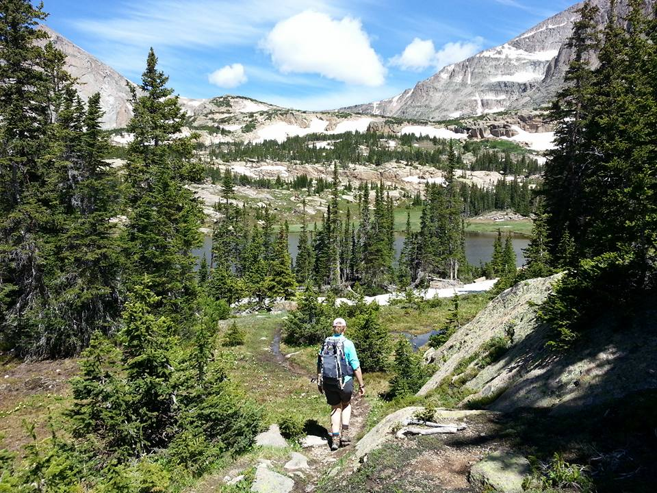 Hiking Lion lake June 2018