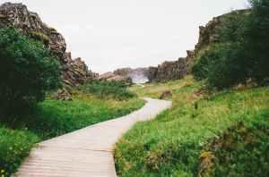 hiking path way trail