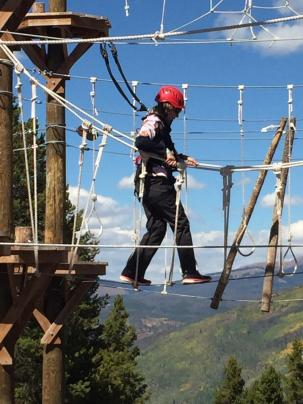 Vail Rope Course 7